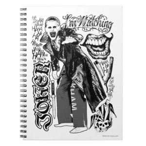 Suicide Squad | Joker Typography Photo Notebook