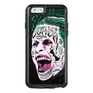 Suicide Squad   Laughing Joker Head Sketch OtterBox iPhone Case