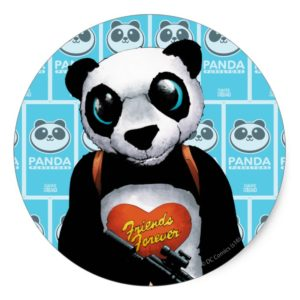 Suicide Squad | Panda Classic Round Sticker