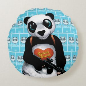Suicide Squad | Panda Round Pillow