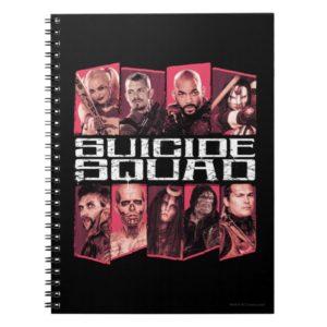 Suicide Squad   Task Force X Group Emblem Notebook
