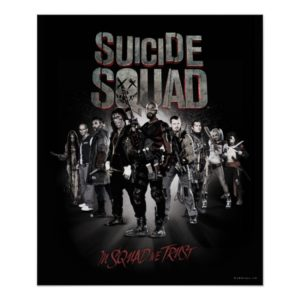 Suicide Squad |Task Force X Lineup Poster