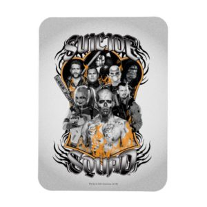 Suicide Squad | Task Force X Tribal Tattoo Magnet