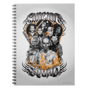 Suicide Squad | Task Force X Tribal Tattoo Notebook
