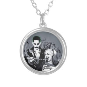 Suicide Squad | The Worst of The Worst Silver Plated Necklace