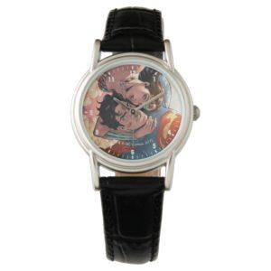 Superman/Wonder Woman Comic Cover #11 Variant Wrist Watch
