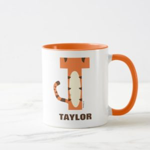 T is for Tigger | Add Your Name Mug