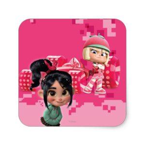 Taffyta & Vanellope Square Sticker