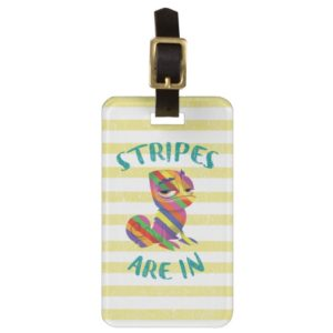 Tangled   Pascal - Stripes are In Luggage Tag