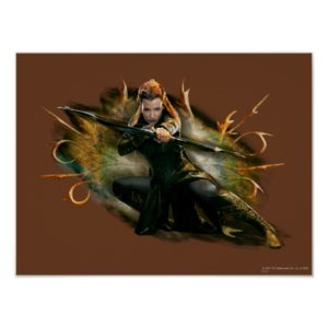 TAURIEL™ Drawing Bow Poster