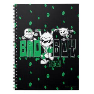 "Teen Titans Go! | ""Bad Boy"" Robin, Cyborg, & BB Notebook"