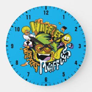 Teen Titans Go! | Beast Boy Waffles Large Clock