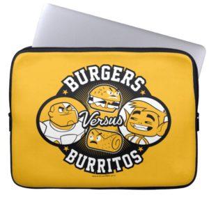 Teen Titans Go! | Burgers Versus Burritos Computer Sleeve