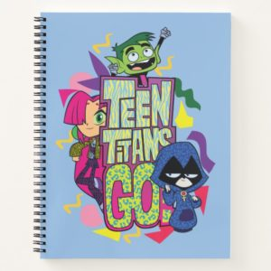 "Teen Titans Go! | ""Girls Girls"" Animal Print Logo Notebook"