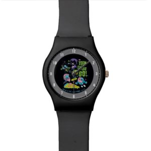 Teen Titans Go! | Gnarly 90's Pizza Graphic Wrist Watch