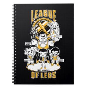 Teen Titans Go! | League of Legs Notebook