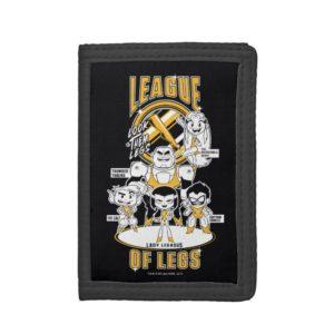 Teen Titans Go!   League of Legs Trifold Wallet