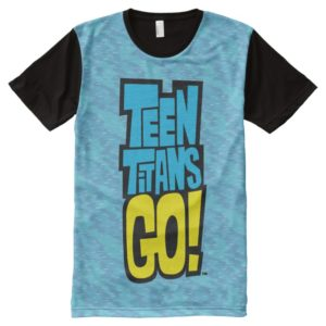 Teen Titans Go! | Logo All-Over-Print Shirt