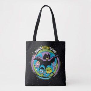 "Teen Titans Go!   Raven ""Azarath Metrion Zinthos"" Tote Bag"