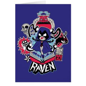 Teen Titans Go! | Raven Demonic Powers Graphic