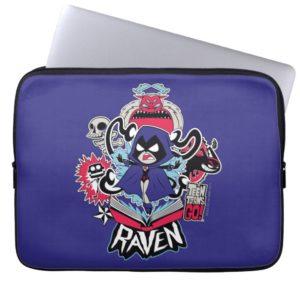 Teen Titans Go! | Raven Demonic Powers Graphic Computer Sleeve