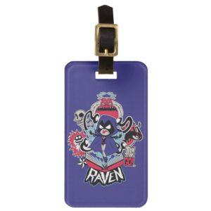 Teen Titans Go! | Raven Demonic Powers Graphic Luggage Tag