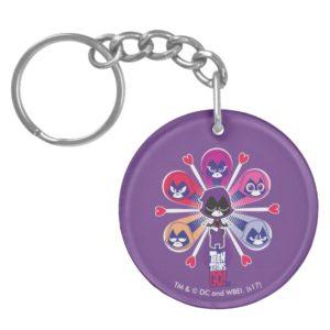 Teen Titans Go! | Raven's Emoticlones Keychain