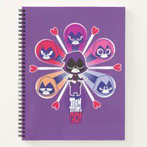 Teen Titans Go! | Raven's Emoticlones Notebook