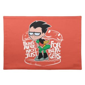 Teen Titans Go! | Robin Booty Scooty Buns Cloth Placemat