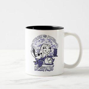 Teen Titans Go!   Starfire & Mr Sassy Pants Two-Tone Coffee Mug