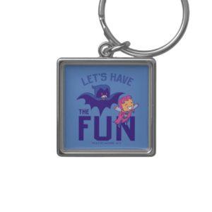 "Teen Titans Go! | Starfire & Raven ""Have The Fun"" Keychain"