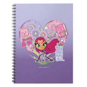 Teen Titans Go!   Starfire's Heart Punch Graphic Notebook