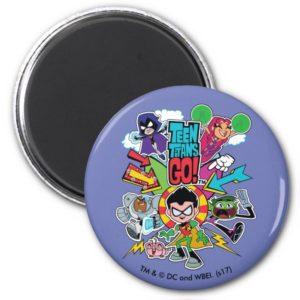 Teen Titans Go!   Team Arrow Graphic Magnet