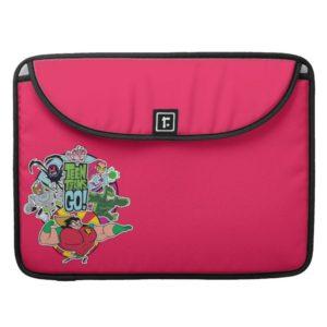 Teen Titans Go! | Team Group Graphic MacBook Pro Sleeve