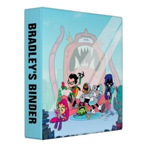 Teen Titans Go! | Tentacled Monster Approaches Binder