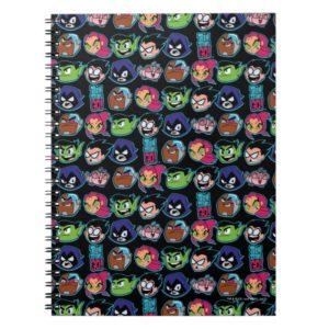 Teen Titans Go! | Titans Head Pattern Notebook