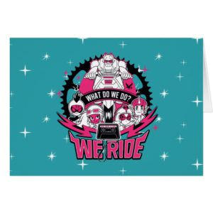 "Teen Titans Go! | ""We Ride"" Retro Moto Graphic"