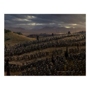 The Battle of the Pelennor Fields Postcard