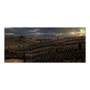 The Battle of the Pelennor Fields Poster