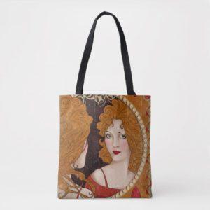 THE BLIND PIG™ Vintage Artwork Tote Bag