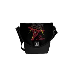 """The Flash   """"Anything Is Possible"""" Courier Bag"""