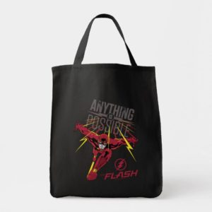 """The Flash   """"Anything Is Possible"""" Tote Bag"""