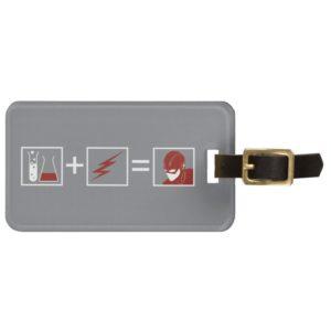 The Flash   Flash Equation Bag Tag