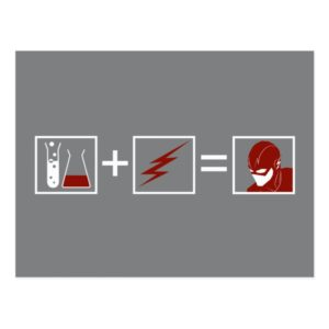 The Flash | Flash Equation Postcard