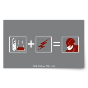 The Flash | Flash Equation Rectangular Sticker
