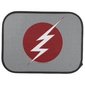 The Flash   Lightning Bolt Logo Car Floor Mat