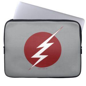 The Flash   Lightning Bolt Logo Computer Sleeve