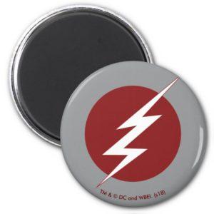 The Flash   Lightning Bolt Logo Magnet