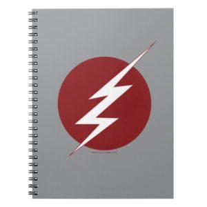 The Flash | Lightning Bolt Logo Notebook