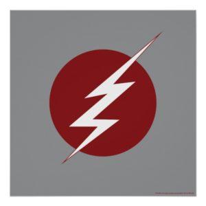 The Flash | Lightning Bolt Logo Poster